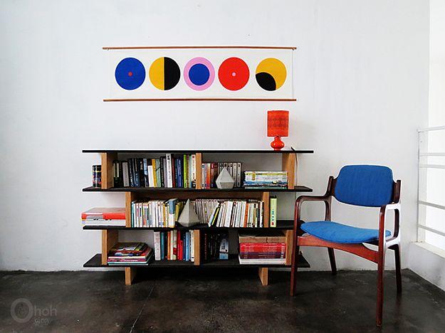 DIY Fabric Wall Art | DIY Home Decorating Ideas For Mid Century Modern Lovers