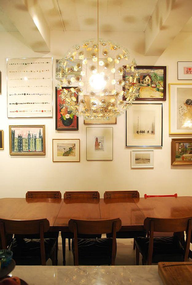 DIY Sputnik Chandelier | DIY Home Decorating Ideas For Mid Century Modern Lovers