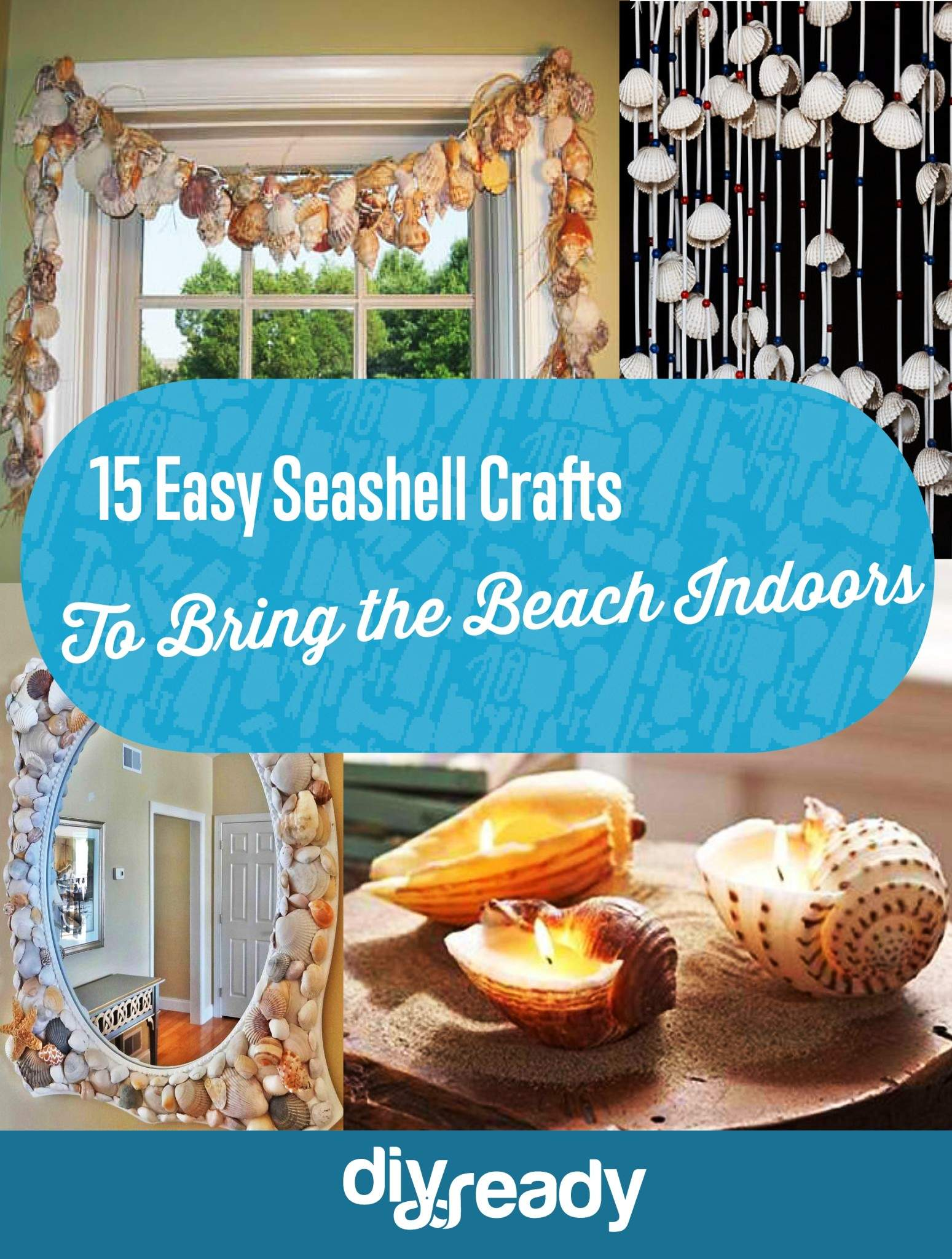 15 Easy Seashell Crafts To Bring The Beach Indoors