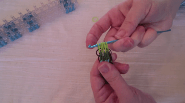 Joining Both Ends | How to Make a Colorful Loom Bracelet