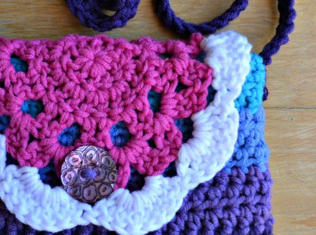 Little Doily Bag Free Crochet Pattern 2