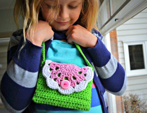 Little Doily Bag Free Crochet Pattern