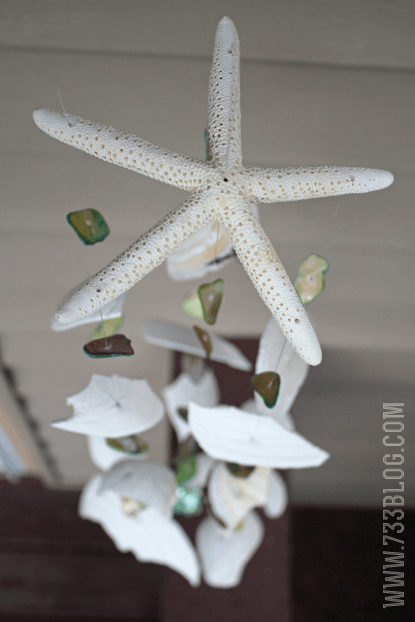 Seashell Windchime | 15 Easy Seashell Crafts To Bring The Beach Indoors