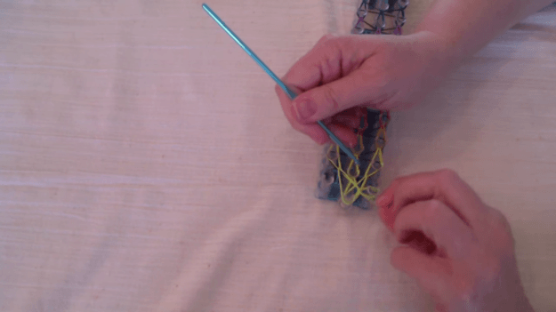 Securing the Bracelet | How to Make a Colorful Loom Bracelet
