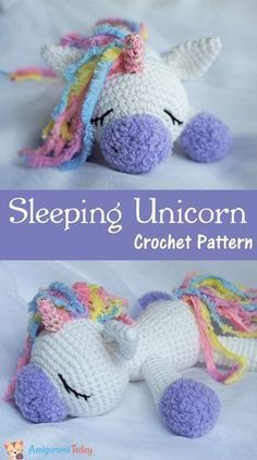 Free Crochet Unicorn Pattern - thefriendlyredfox.com | 423x236