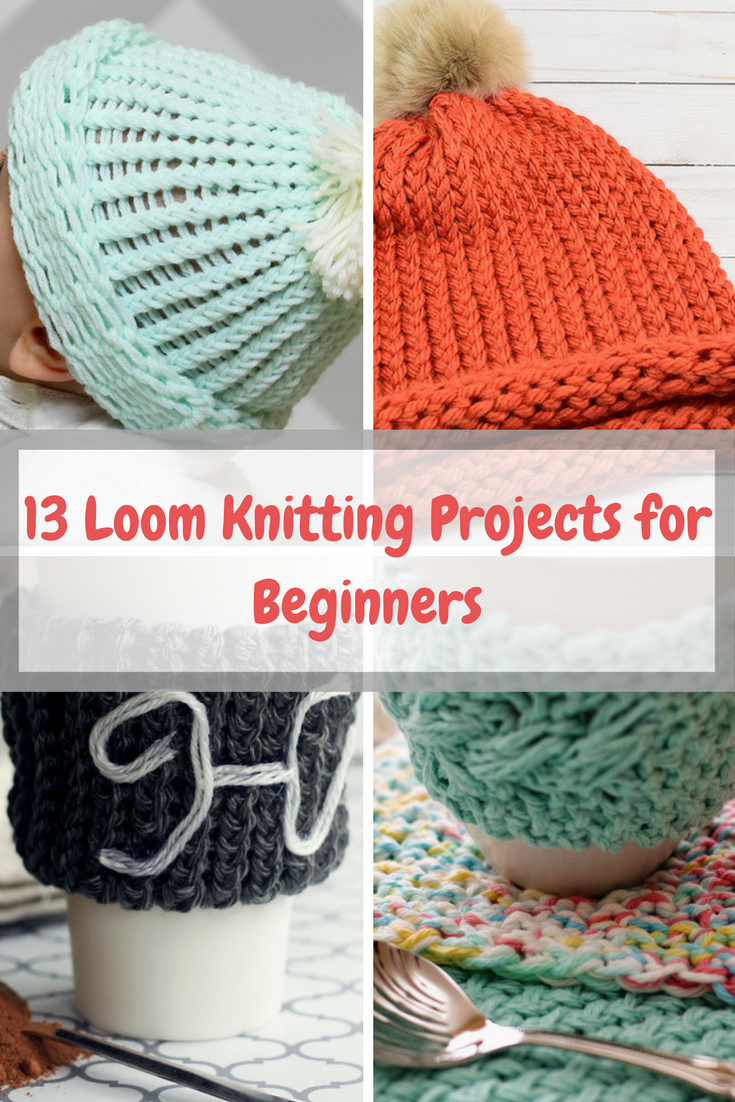 Loom Knitting For Beginners : Knitting archives new craft works