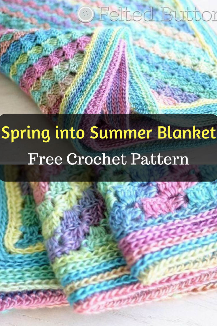 Spring into Summer Baby Blanket - Free Crochet Pattern - New Craft Works