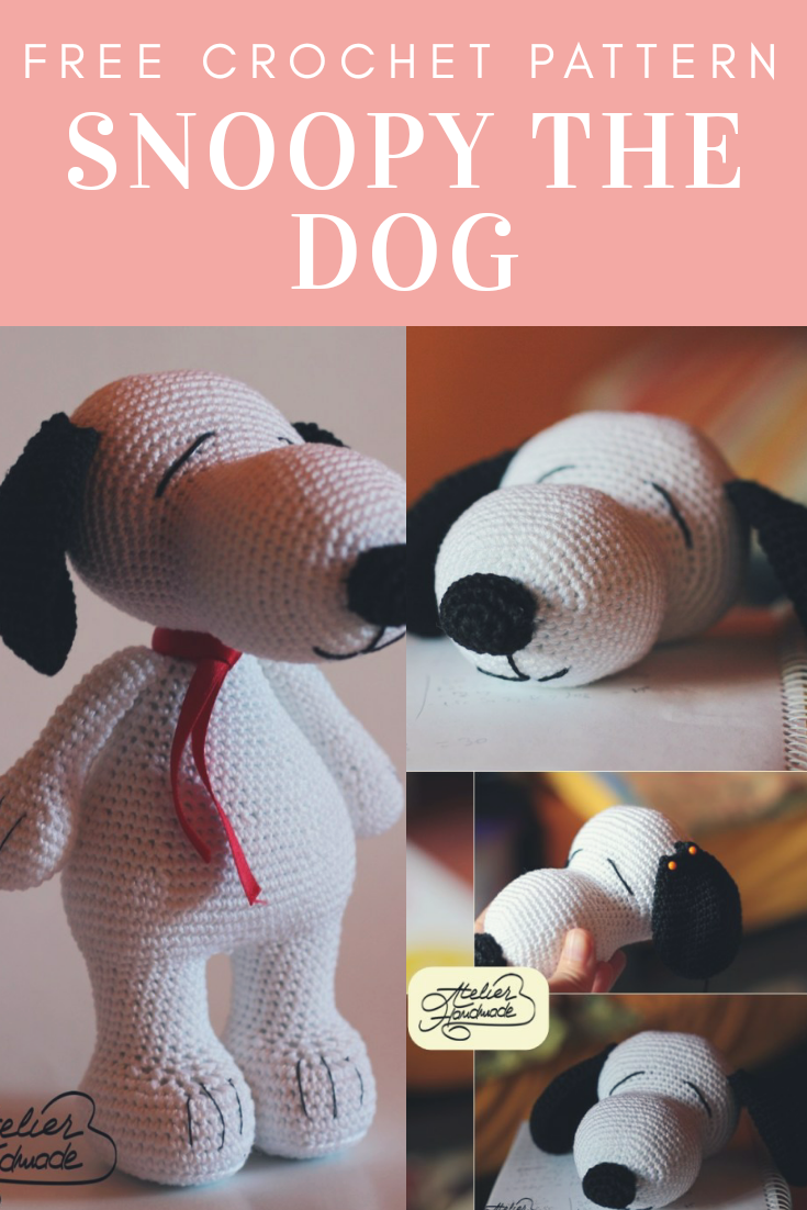 Snoopy The Dog Free Crochet Pattern New Craft Works