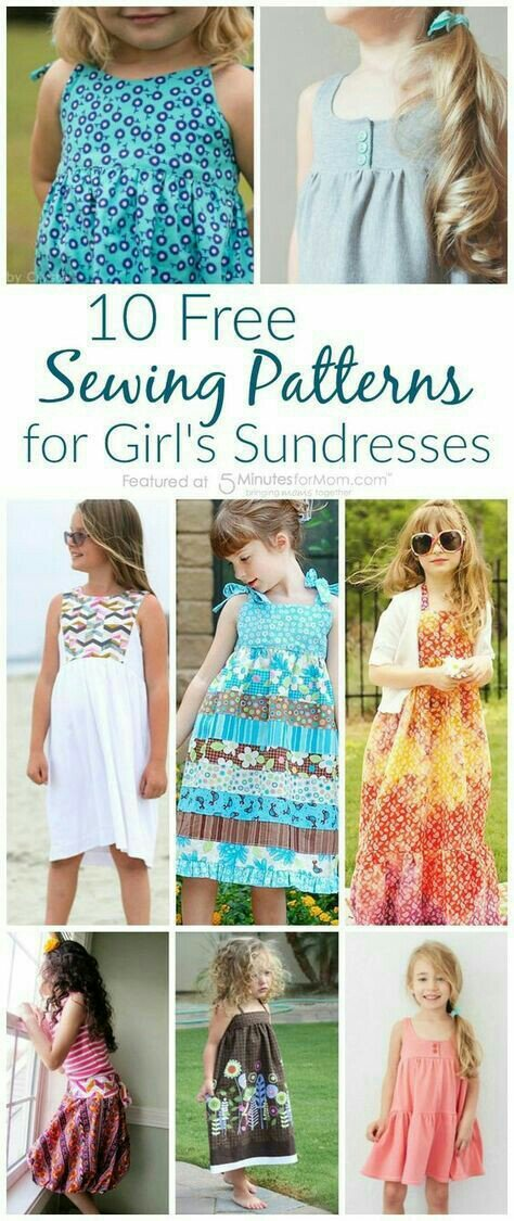 9c88e80a2 10 Fabulous and Free Sewing Patterns for Girl s Sundresses - New ...