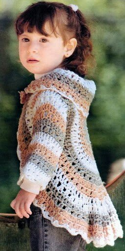 Circular Shrug Bolero Cardigen Free Crochet Pattern New Craft Works