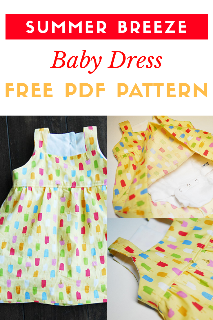 a8cdf69e667b Summer Breeze Baby Dress - Free PDF Pattern - New Craft Works