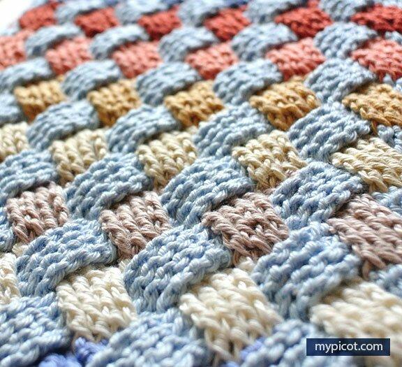 Crochet Basket Weave Stitch Free Crochet Pattern New Craft Works