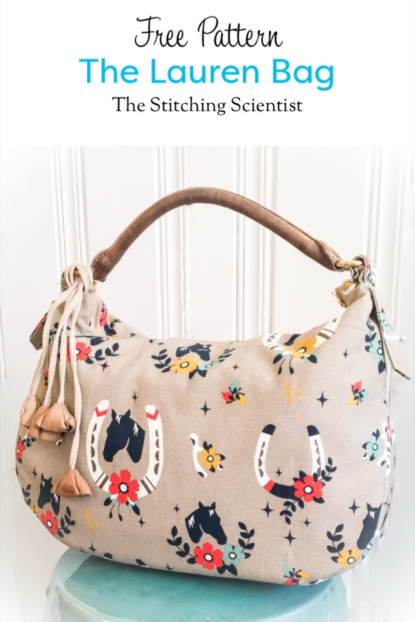 Free Sewing Pattern - The Lauren Bag - New Craft Works