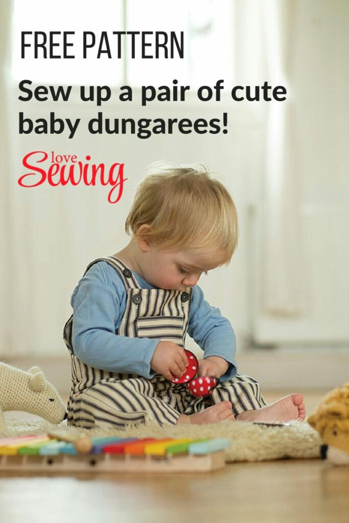 Free Baby Dungarees Pattern New Craft Works